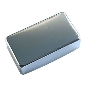HUMBUCKER PICKUP COVER CLOSED CHROME
